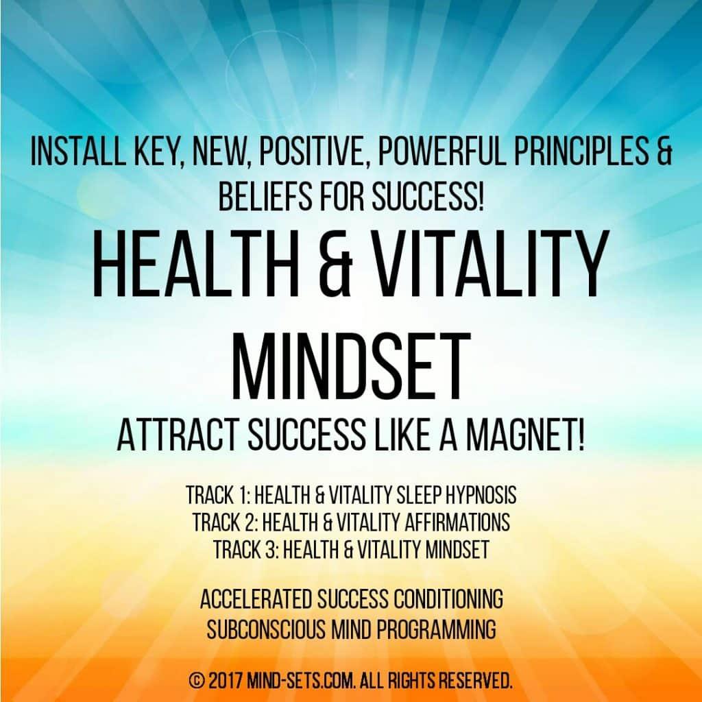 Health & Vitality Mindset
