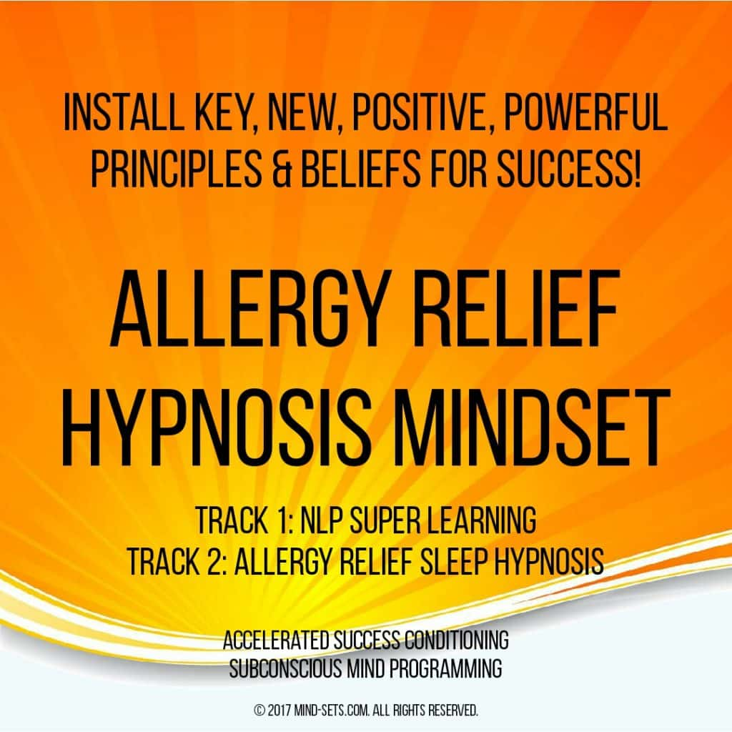 Allergy Relief Hypnosis Mindset