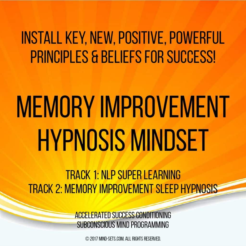 Memory Improvement Hypnosis Mindset