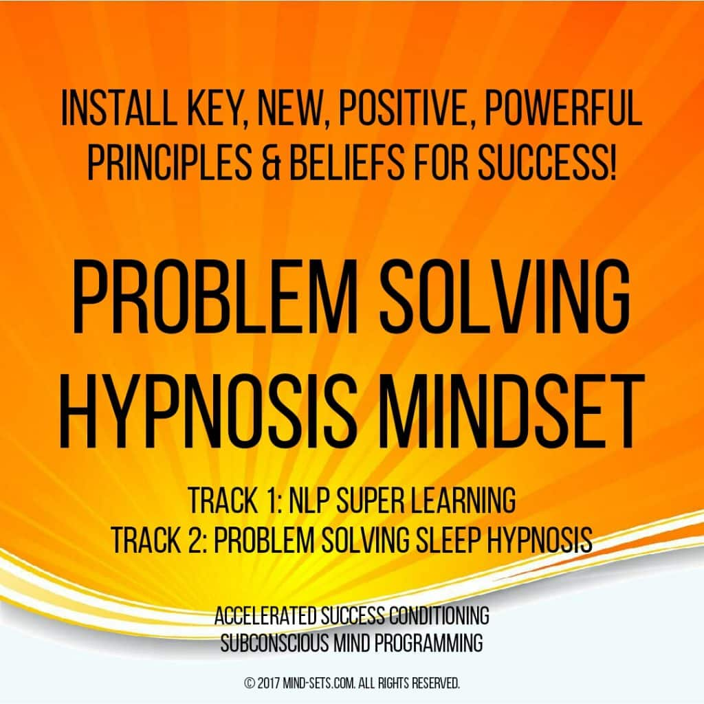 Problem Solving Hypnosis Mindset