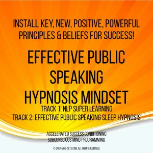 Public Speaking Hypnosis