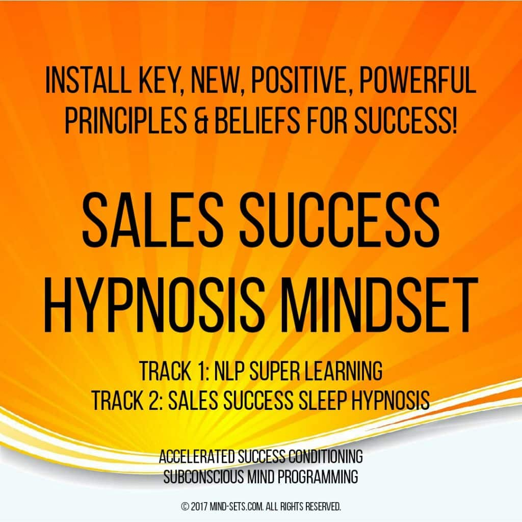 Sales Success Hypnosis Mindset