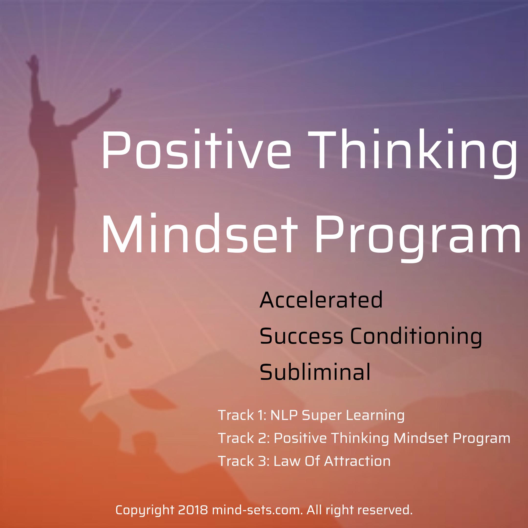 Positive Thinking Mindset Program
