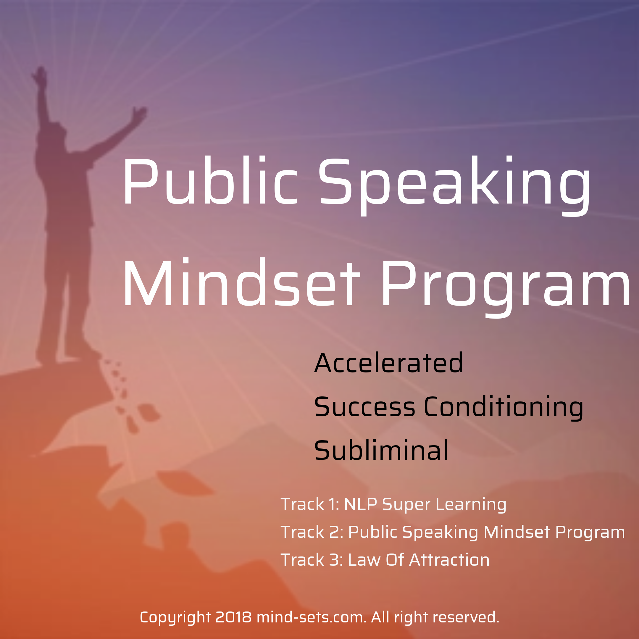 Public Speaking Mindset Program